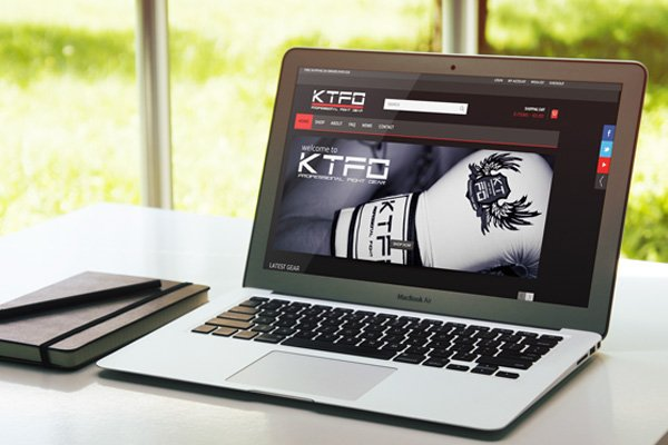 KTFO Fight Gear | Seghill Cramlington Northumberland - new WordPress ecommerce website