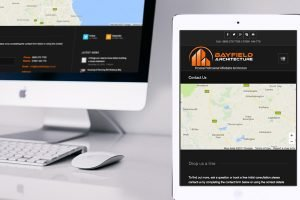 New WordPress website by Zealous Web Design for Bayfield Architecture - Newcastle upon Tyne - featured image